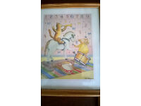 Children's framed Nursery rhyme pictures