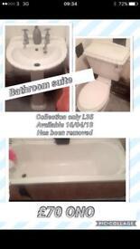 Bathroom suite L35