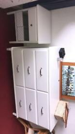 Full set of whole drawers & bedside cabinet.