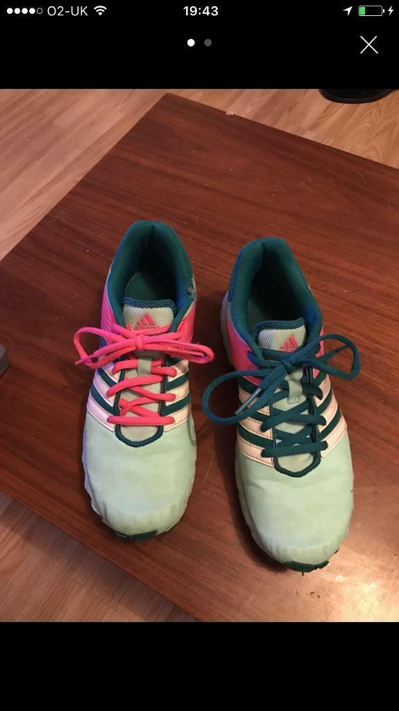Adidas running trainers size 5in Kingston, LondonGumtree - Great running trainers size 5 Excellent tread Well loved but lots of life left! Pick up kt2