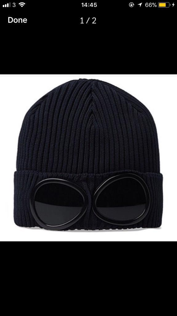 998e1c425 CP Company goggle Beanie hat winter   in Neasden, London   Gumtree