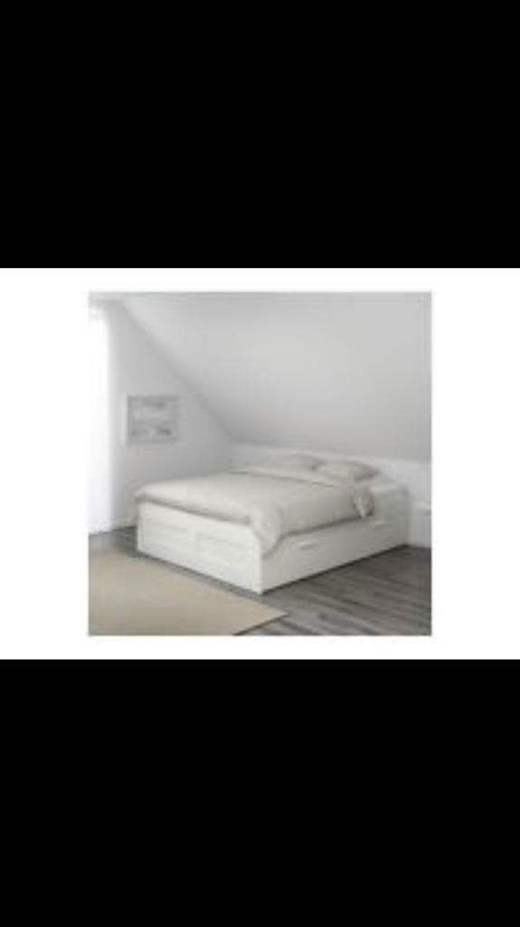 IKEA Brimnes bed with drawers | in Anstruther, Fife | Gumtree