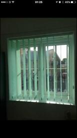 Vertical Blinds in new condition