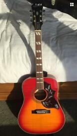 Gibson Epiphone Hummingbird Artist - mint and with hard case