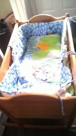 baby crib and walker!!