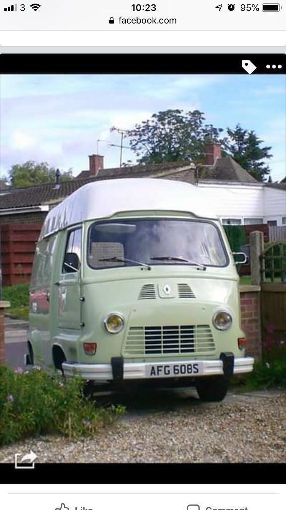 Renault Estafette vintage camper van Similar to VW camper 1977 | in  Bournemouth, Dorset | Gumtree