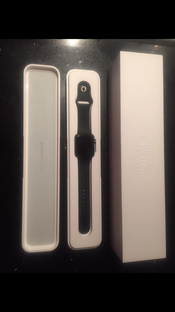 Space Grey 42mm Apple Watch