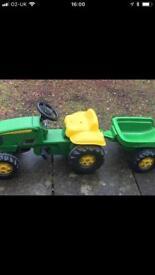 John Deere Kids Ride on Tractor