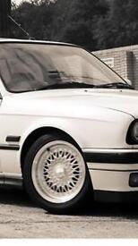 four dare wheels multi stud fit e30s