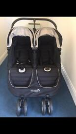 Brand new Baby Jogger City Mini Double Buggy/ Pushchair/ Stroller