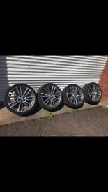 Genuine BMW MSport 19inch alloys
