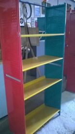 Good quality metal bookcases