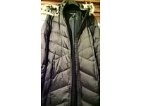 Women Lands' End coat NEW without tag size 18
