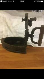 Late 1800's charcoal iron ! Or doorstop !