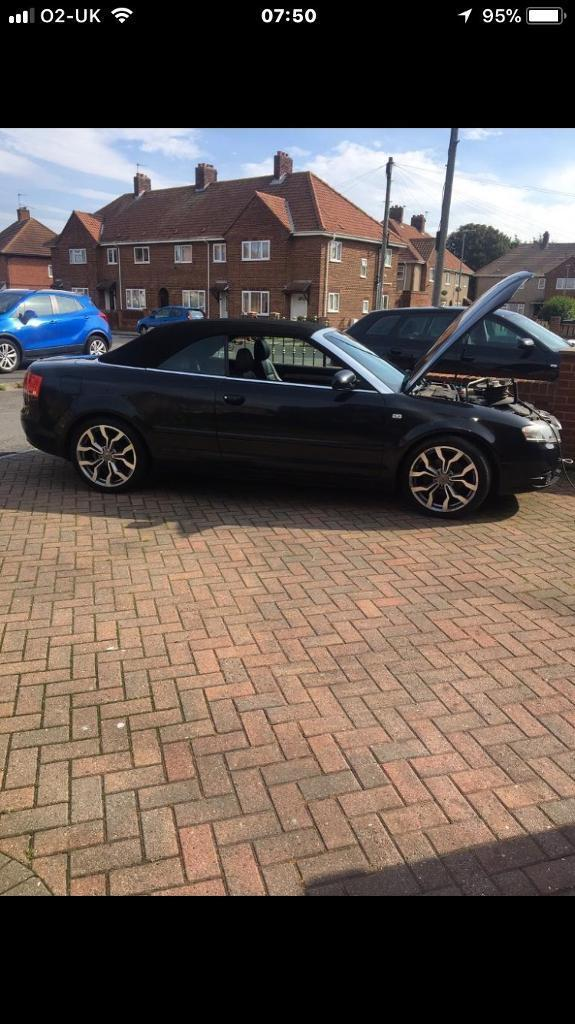 Audi A4 2.0 tdi cabriolet 2006 plate SUMMER PROJECT