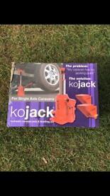 Brand new unused Kojack hydraulic caravan jack and levelling aid