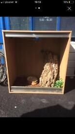 3ft x 2ft x 3ft wooden vivarium