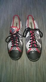 Converse Jack Purcell size 10.5, limited edition, designer trainers, flat pumps,