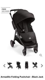 REDUCED REDUCED need gone ASAP Mamas and Papas Armadillo folding pushchair black