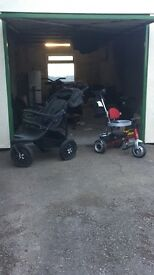 Off road push chair and good trike