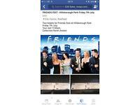 2x Friends Fest Tickets