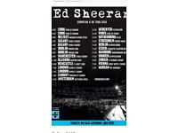 2 x Ed Sheeran Dublin 18th of May tickets for sale