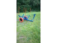 Wood Cart Trolley