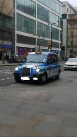 LONDON TAXI TX4 STYLE CAB AND PLATE FOR SALE - FULL TRACK AVAILABLE