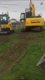 **wanted digger driver, also labours, must have experience,