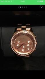 Ladies Marc jacobs rose gold watch