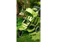 Phil and Teds sport double buggy and cocoon