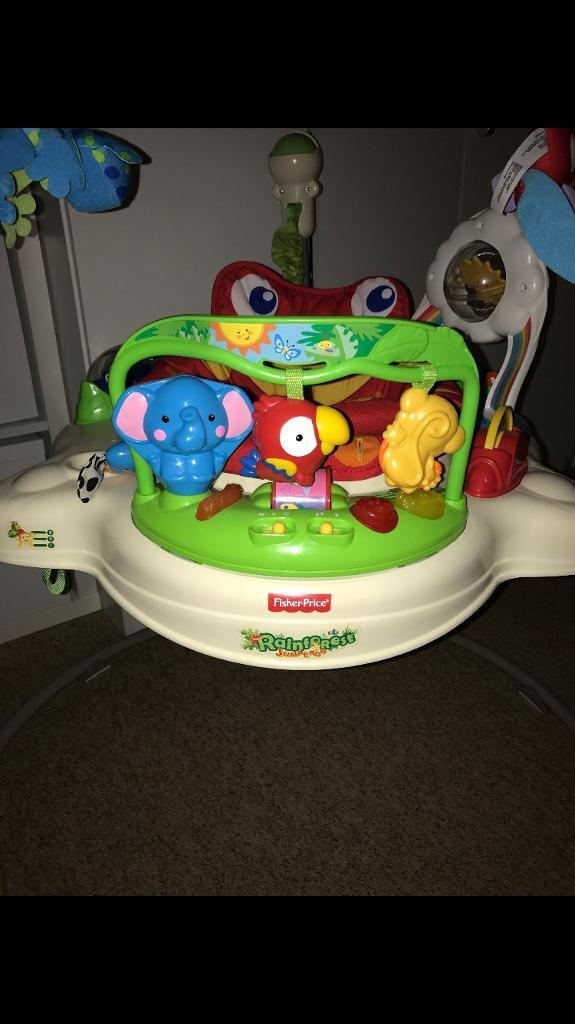 Fisher price jumperoo in oxford oxfordshire gumtree for Door jumperoo