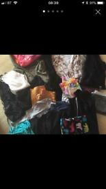 Size 10 clothes bundle - 20 items ladies coat tops