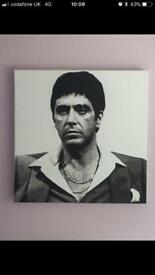 Al Pacino (Scarface) Canvas LARGE