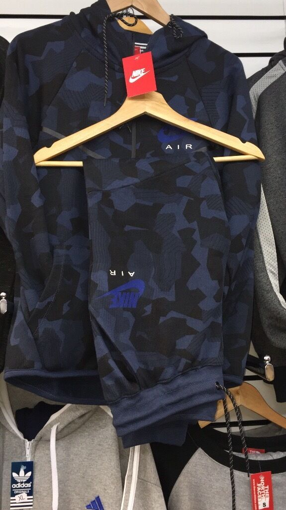 Tracksuit mens Hugo boss /Nikein Leicester, LeicestershireGumtree - Nike blue cameo tracksuit few sizes left and Hugo boss track suits a few sizes blue and grey available very good quality nice fitting postage pay on collection bank transfer follow Instagram A Game fashion