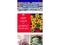 Greeting card franchise for sale
