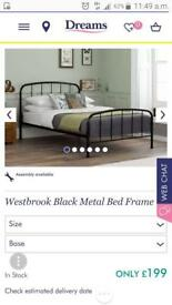Single bed brand new still in plastic
