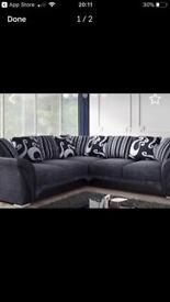 ❤️❤️ FREE POSTAGE. LARGE SOFA SET WITH ALL CUSHIONS