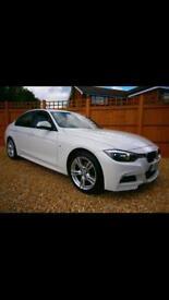 2014 BMW 320d M Sport White