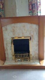 Electric fire and surrounds for sale