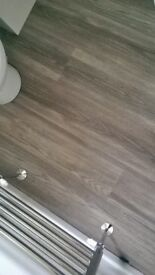 Silver Grey Effect Laminate Flooring Panels