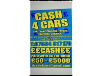 💷💷 ALL VEHICLES WANTED CASH ON COLLECTION BEST PRICES PAID 💷💷