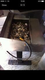 2 burner charcoal grill