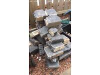 Free concrete bricks