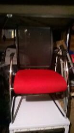 Move Kovac mesh-backed cantilever visitor chair excellent central London bargain