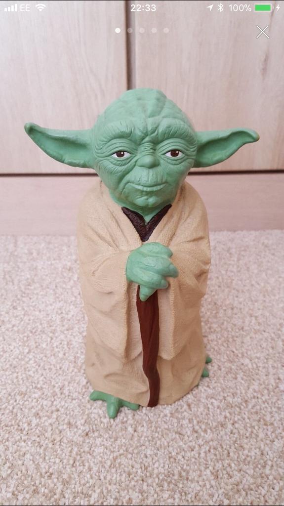 Star Wars Yoda Glove Puppet 1981