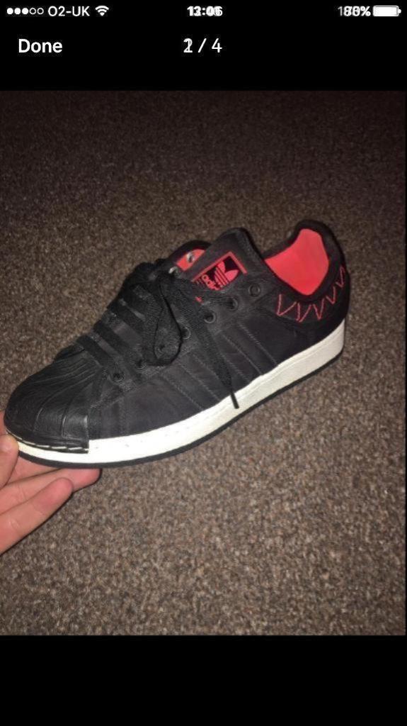 Adidas superstar 2 size 8 not nike