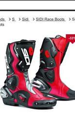SIDI boots size 4uk