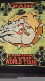 Rare & Collectable House of Pain (Silk Screen Tour Poster by Artist Frank Kozik)