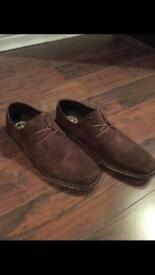 Next Moleskin Style Shoes